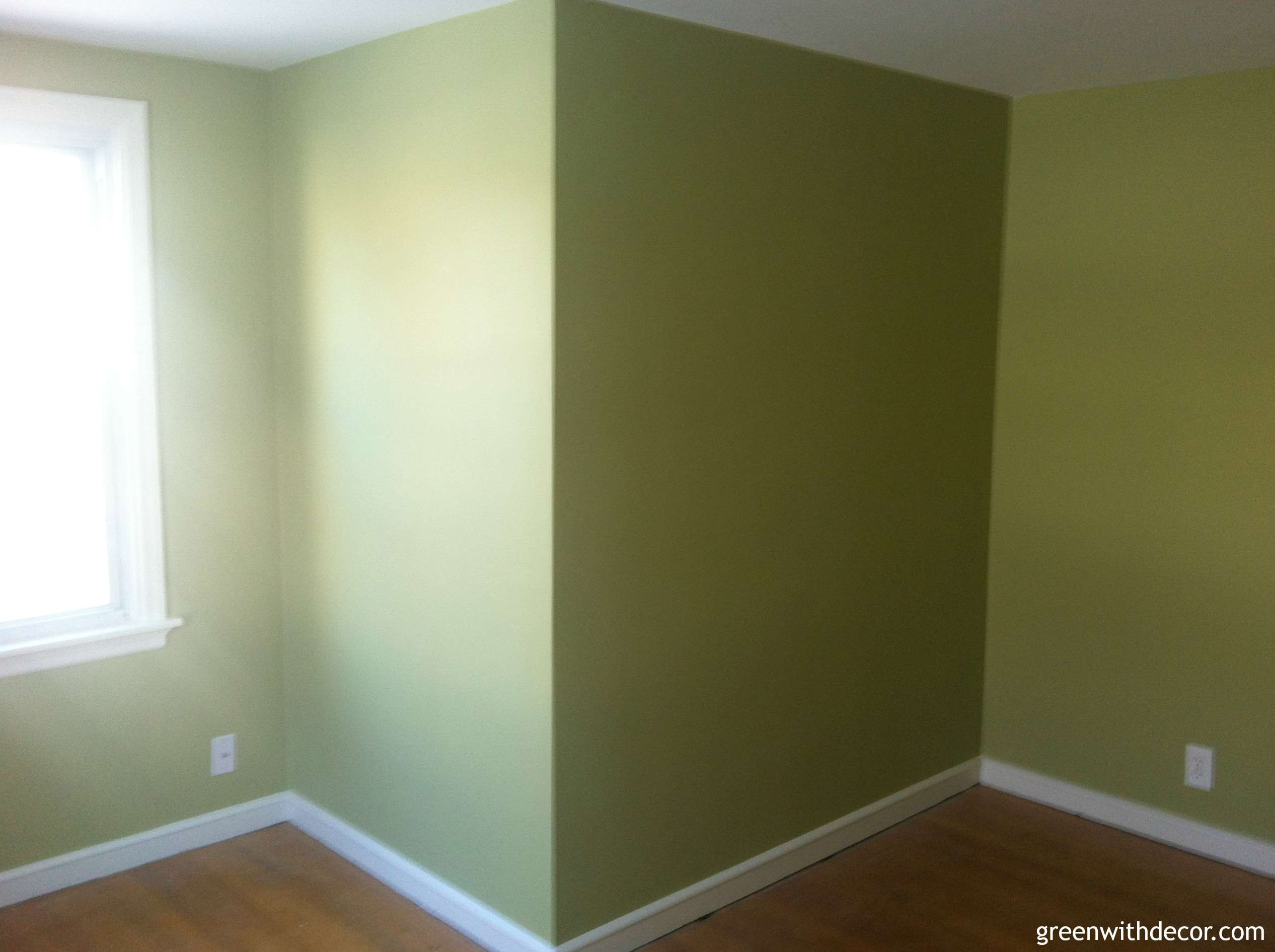 Green With Decor Second Floor Paint Color Reveal