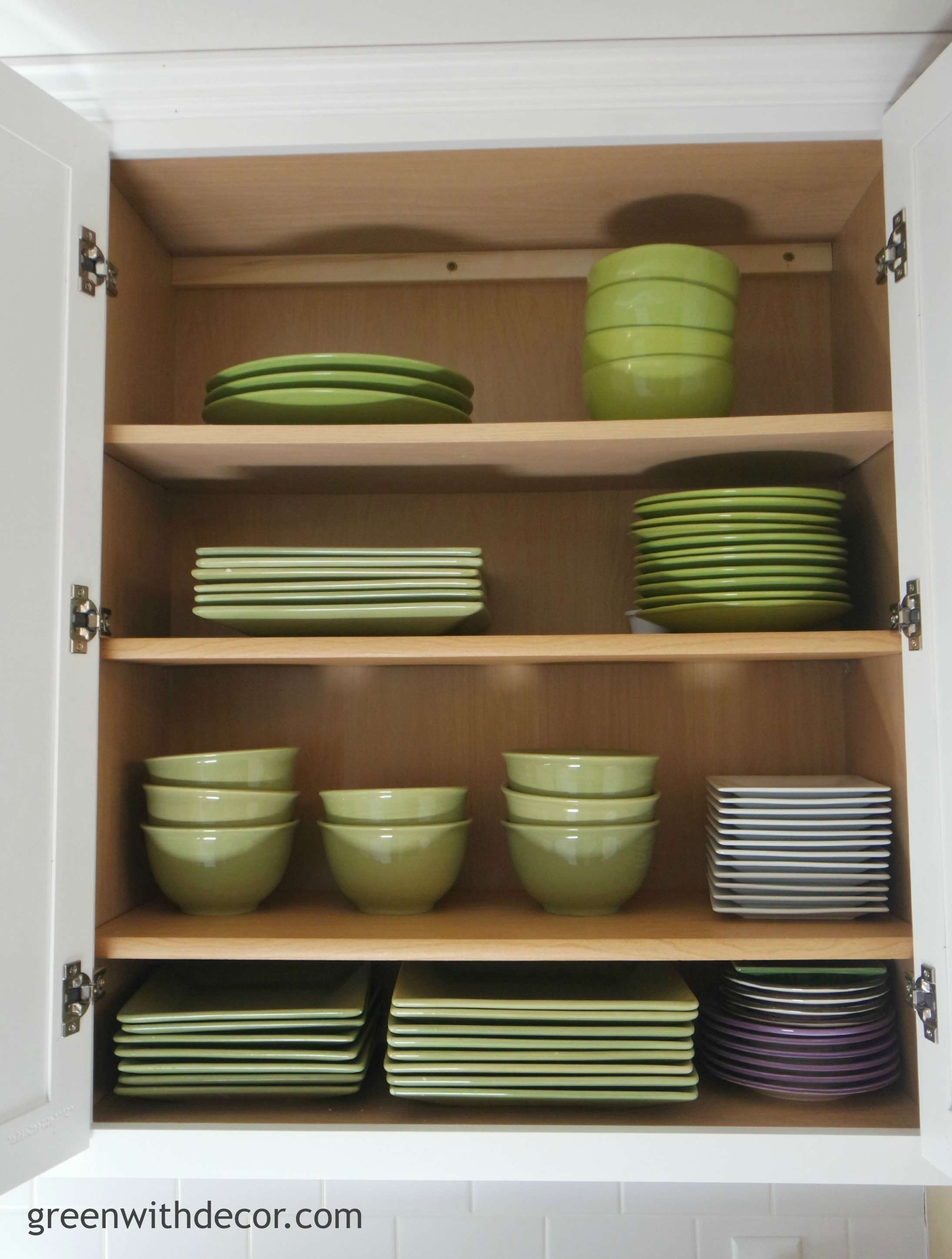 Green with decor get extra storage in the kitchen for Additional shelves for kitchen cabinets