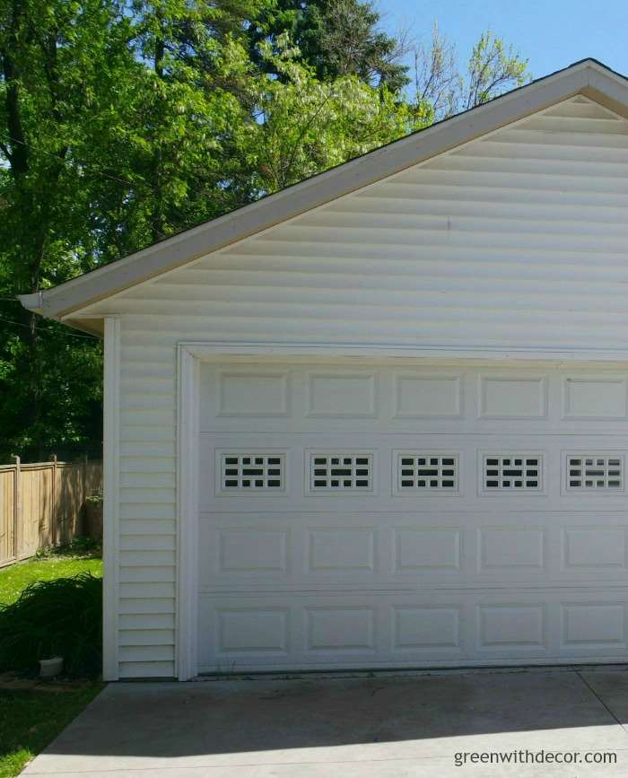 How to remove cigarette smell from a garage | Green With Decor