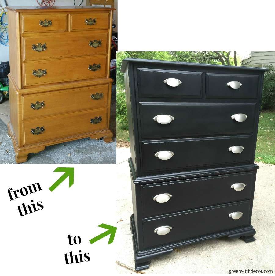 My favorite dresser and nightstand makeovers