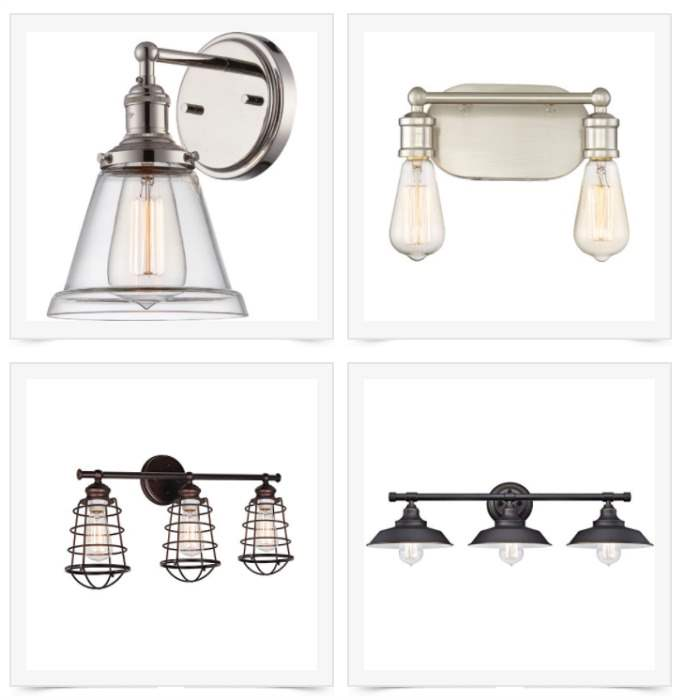 Bathroom Vanity Lights Farmhouse : Green With Decor - 15 farmhouse vanity lights under USD 100