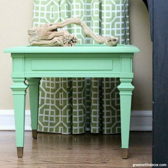 How to paint a table with a lot of detailed trim